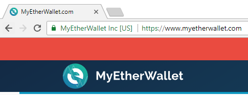 myetherwallet address and branding
